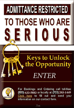 Keys to Unlock the Opportunity