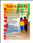 RULES TO LOVE BY